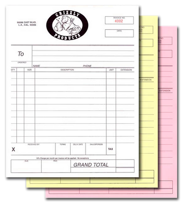 Carbonless form picture copy - Cheapest Carbonless Forms